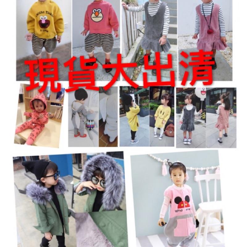 男童女童兒童寶寶小童 長褲連身裙洋裝內搭褲燈芯絨娃娃裝襯衫套裝居家服