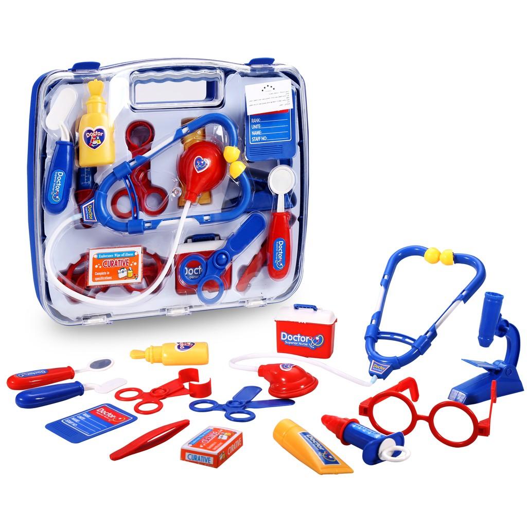 ~寶寶最愛~兒童仿真過家家醫生玩具工具箱寶寶聽診器打針玩具套裝男女孩