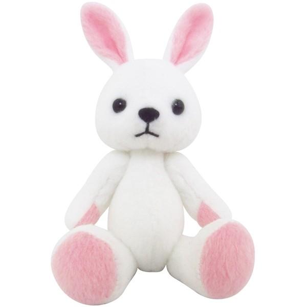 ~ 區~日版美特兔白色吊飾娃娃素體animate 周邊