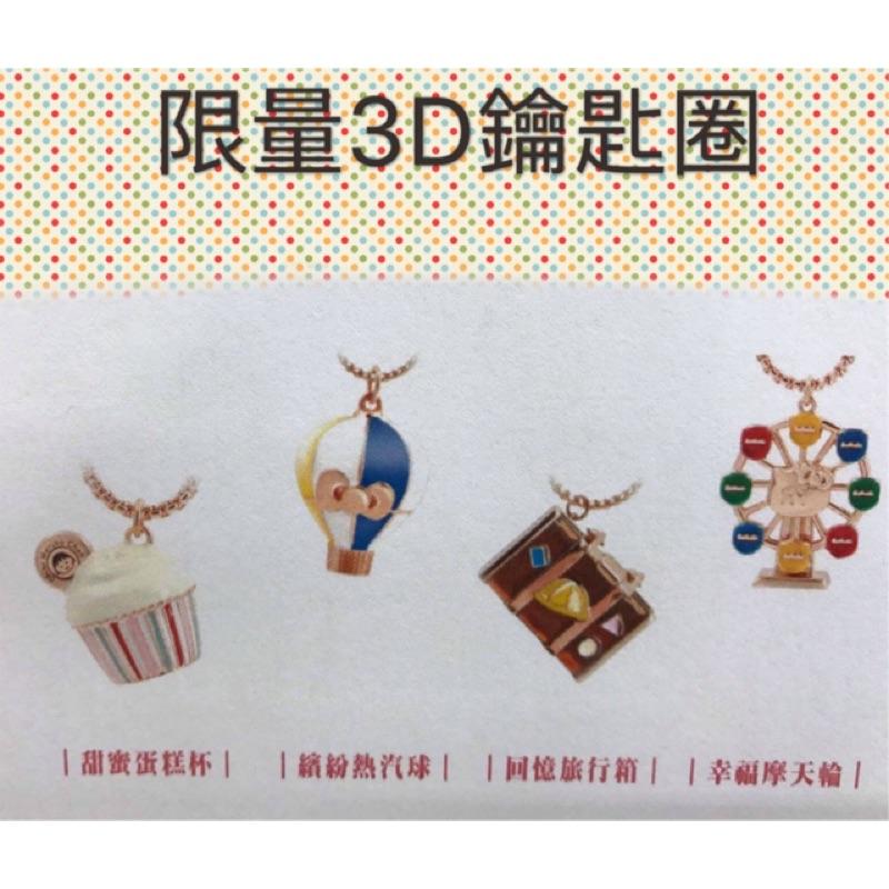 7 11 櫻桃小丸子X Hello Kitty 春日 3D 鑰匙圈單售最 130 元整套4