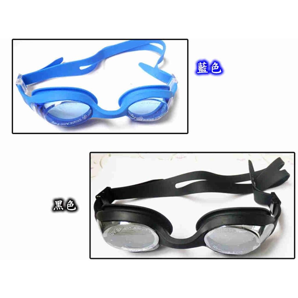 水之舞OPT5900 近視泳鏡近視蛙鏡防水防霧防紫外線矽膠一體成型鏡帶可調節100 °至8