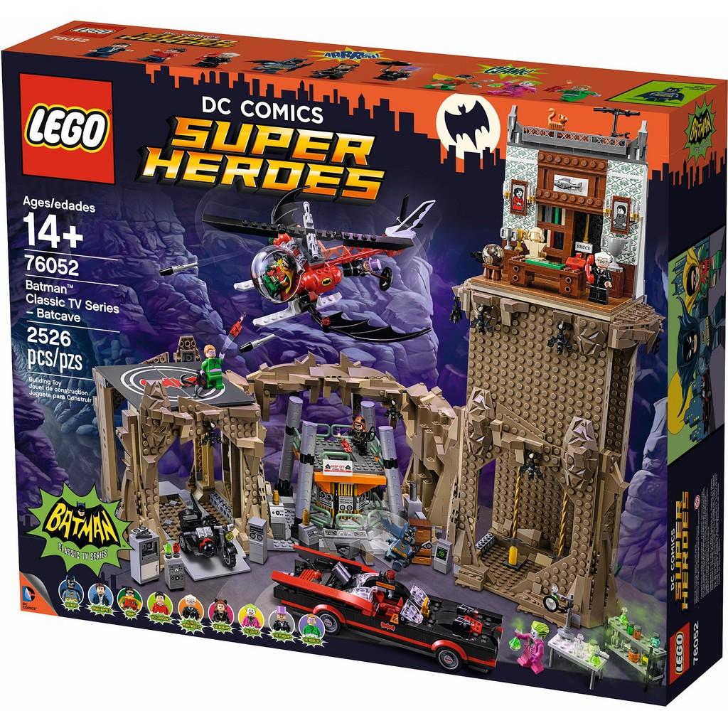 [想樂] 樂高Lego 76052 超級英雄蝙蝠洞Batman ™Classic TV S