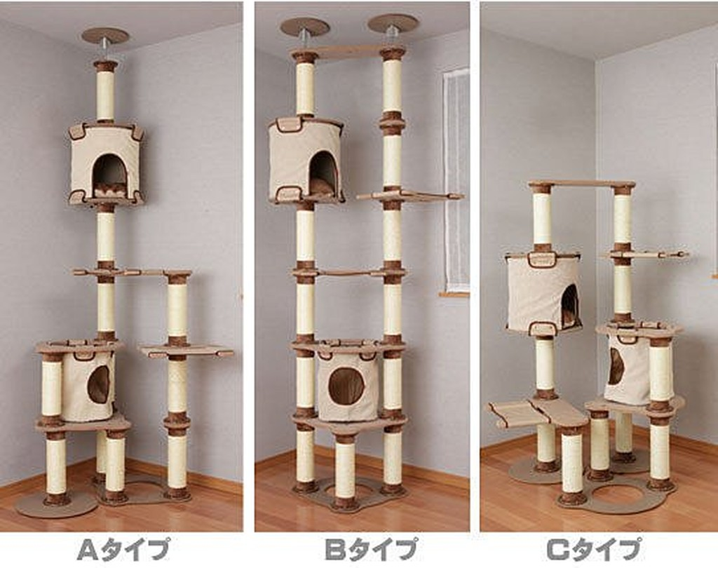~貓跳台~ Petio ~3121 三種方式任意 頂天貓跳台~ 260 公分