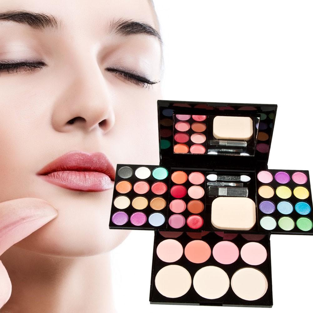 超低震撼價彩妝盒化妝盒眼影口紅腮紅粉餅彩妝盤彩妝