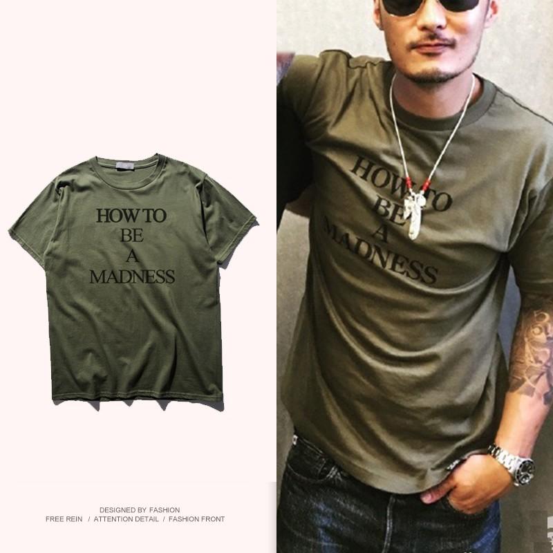 潮男日誌余文樂同款短袖潮流T Shirt 非madness dickies
