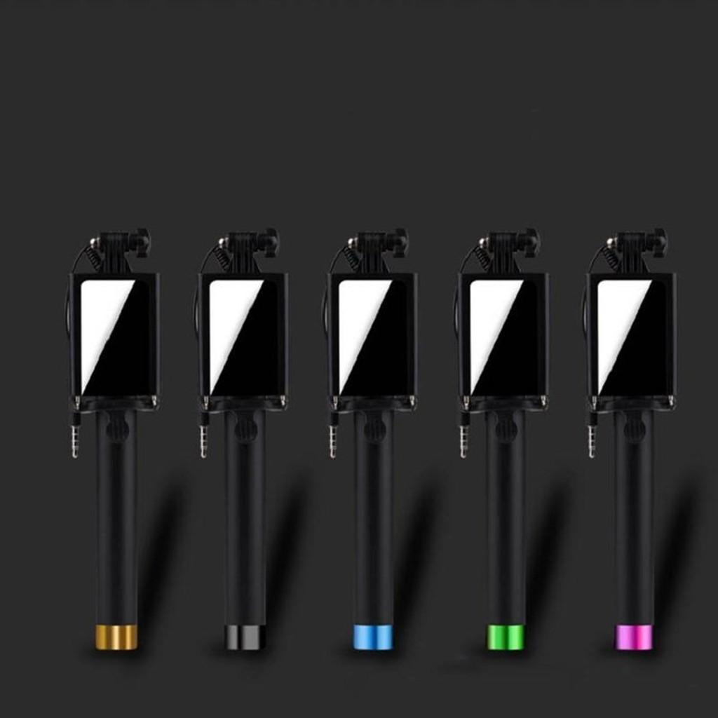 鏡面 桿金屬五色輕巧方便好攜帶支援IOS 和Android 手機Z 0005