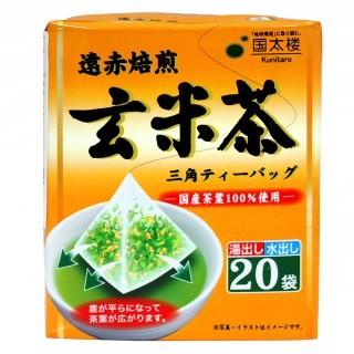 爆買 國太樓玄米茶三角茶包20 袋50g 茶葉可冷沖熱泡  立體茶包