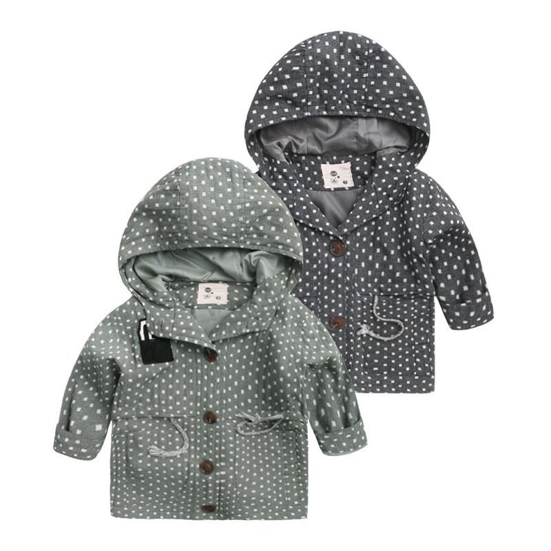 男童中長款風衣外套2016 秋裝 兒童寶寶上衣潮U2723