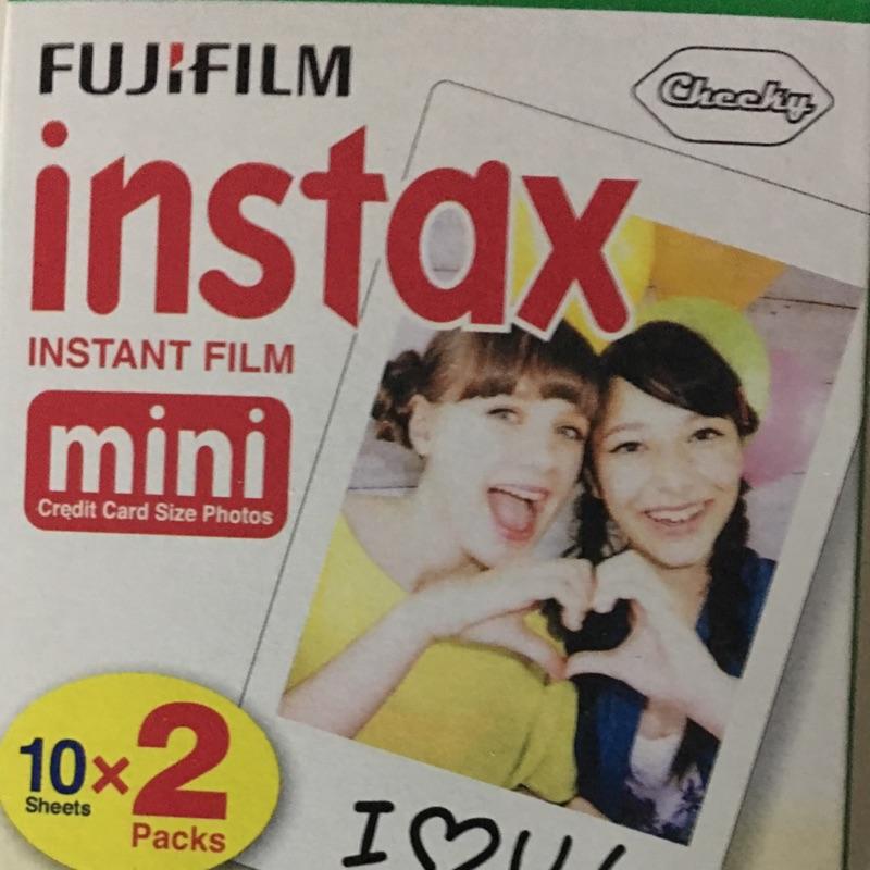 FUJIFILM Instax mini 空白底片拍立得底片一盒兩捲裝富士mini8 空白