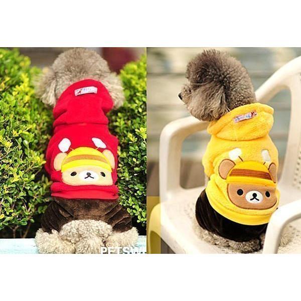 ~曼尼寵物 屋~好可愛蜜蜂熊王子寵物衣服狗狗衣服寵物四腳褲服