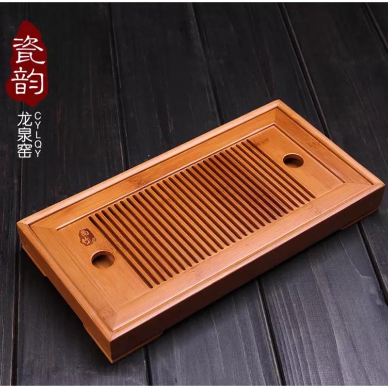 竹茶盤 雕製茶盤典範( )