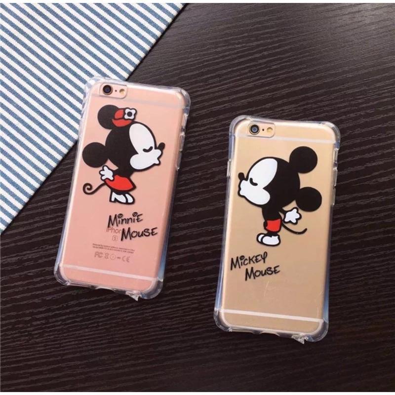 迪士尼米奇米妮情侶款iphone5 iphone6 iphone6plus 手機保護套手機