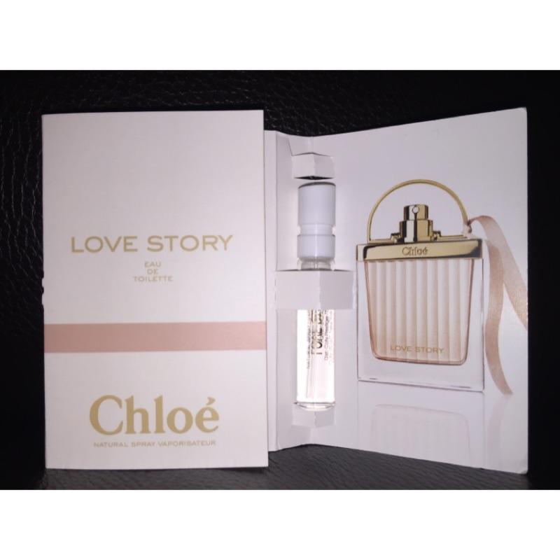 美國 Chloe Love Story 愛情故事晨曦女性淡香水針管試管1 2ml