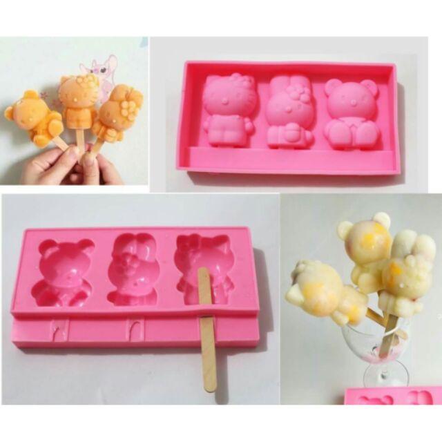 ∼∼卡通冰淇淋雪糕矽膠模具DIY 冰棒模具∼∼n n