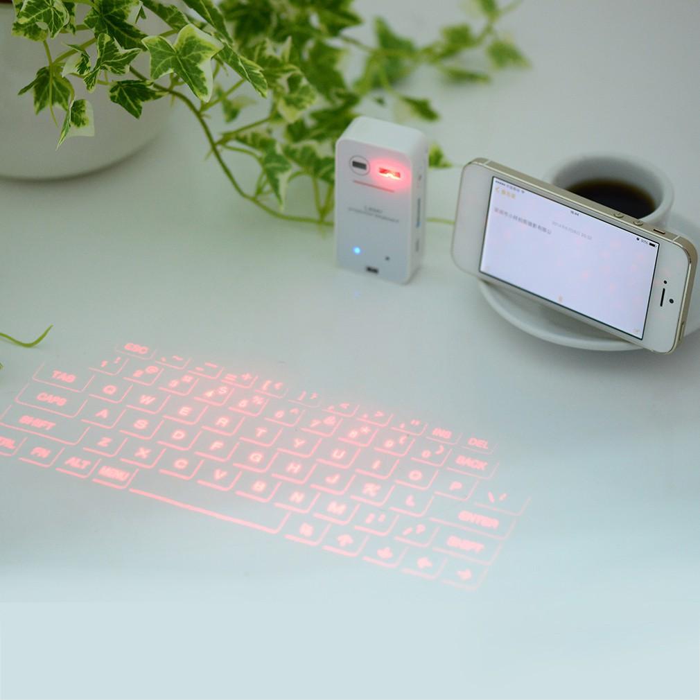 虛擬激光迷你藍牙投影鍵盤手機