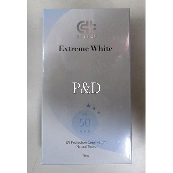 果蕾極白光勻亮高效輕透防護霜SPF50 自然潤色30ML 200 元可超取期限201610