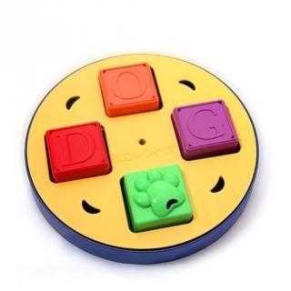 字母盒美國益智漏食玩具