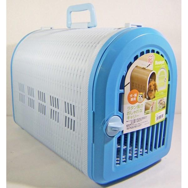 ~本 請選賣家宅配或 ~ IRIS 犬貓外出籠附背帶青色外出籠提籃
