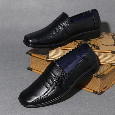 男皮鞋懶人鞋休閒鞋 鞋英倫鞋皮鞋球休閒鞋子休閒皮鞋 鞋子 皮鞋春 男士商務正裝皮鞋男鞋工作