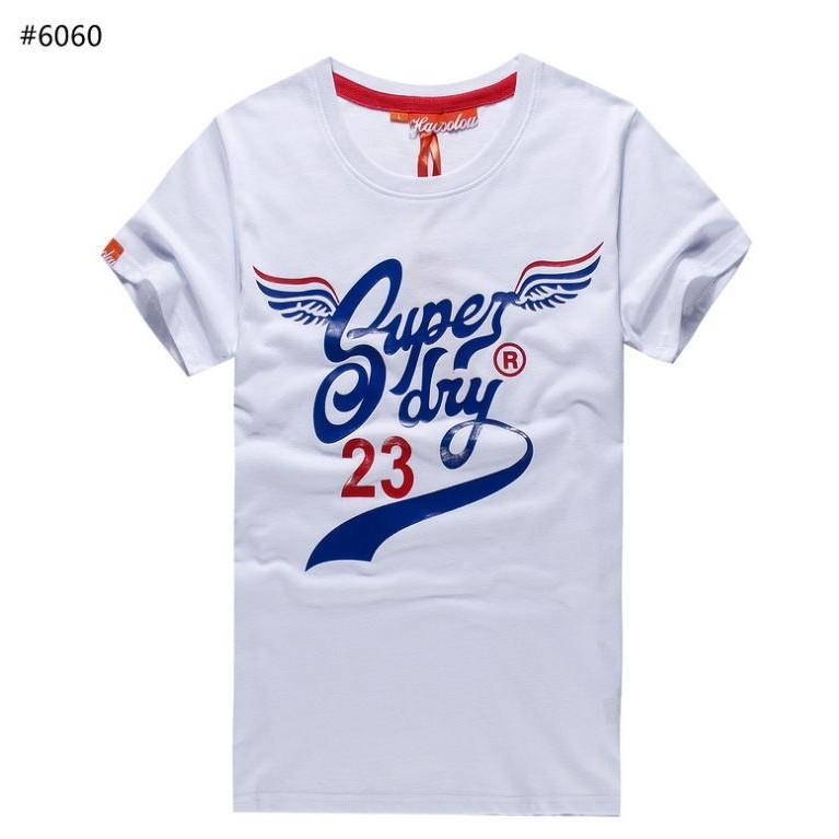 Superdry 極度乾燥英倫潮牌2030 純棉圓領爆裂植絨印花男短袖T 恤n