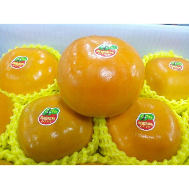 7A 15A 大雪山甜柿超大顆富有甜柿