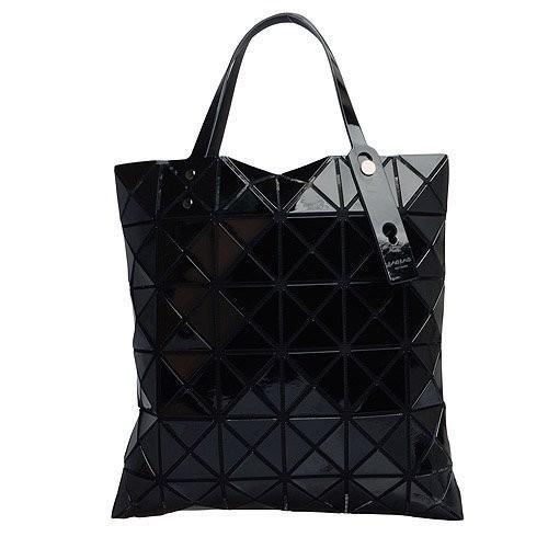 686 愛 ISSEY MIYAKE 三宅一生BAOBAO 幾何方格6x6 手提包黑色