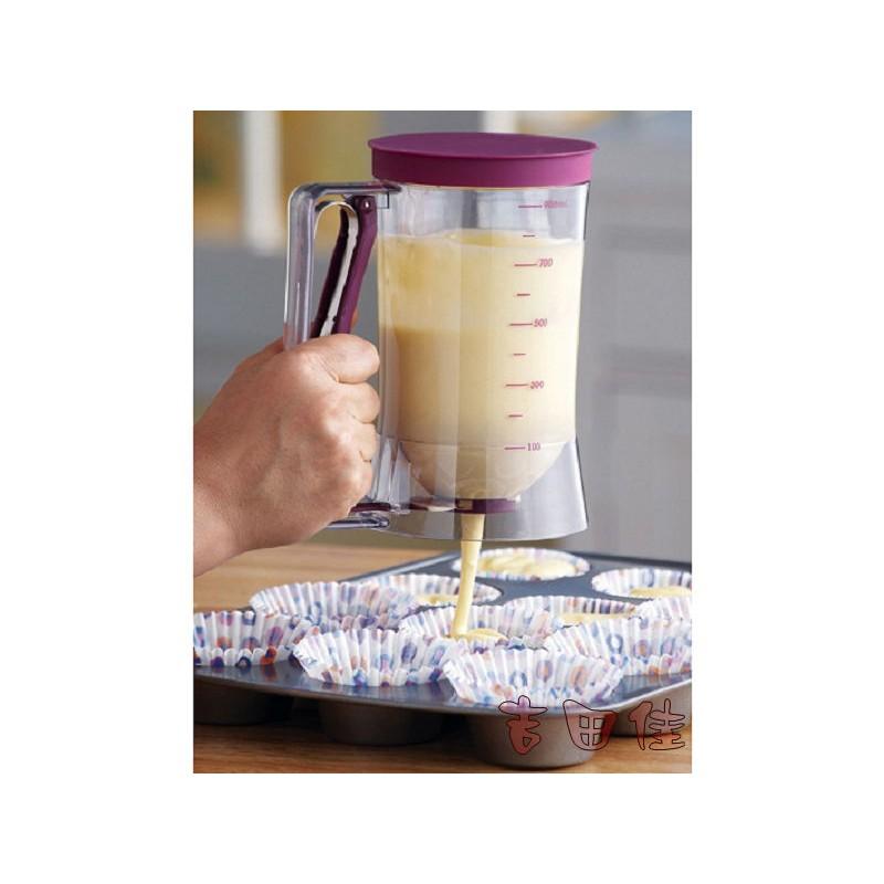 吉田佳B67031 杯子蛋糕麵糊分配器,分液器,麵糊漏斗,麵糊充填器,定量器,麵糊器,量杯