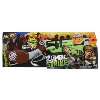 ~MR W ~NERF Zombie Strike 打擊者大獵槍孩之寶軟彈槍安全子彈泡棉子