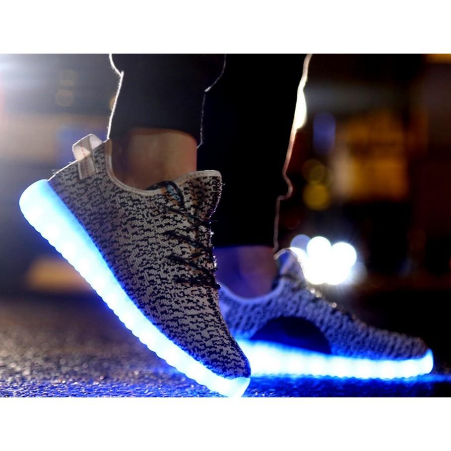 2017 日韓 款男女七彩LED 發光鞋編織鞋爆米花鞋椰子鞋 鞋路跑鞋太空鞋帆布鞋單車籃球