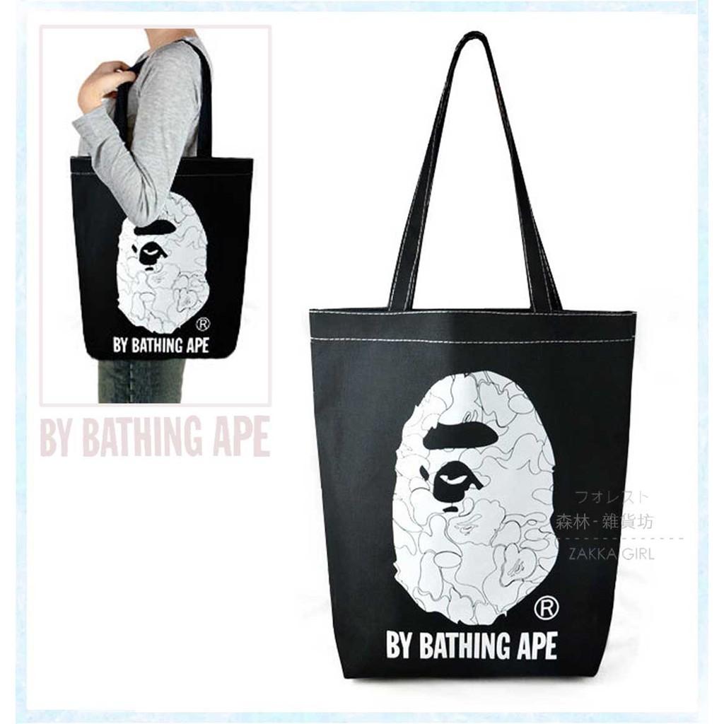 森林雜貨坊754 香港A BATHING APE 雜誌附錄猿人猴猩猩logo 潮男街頭潮牌