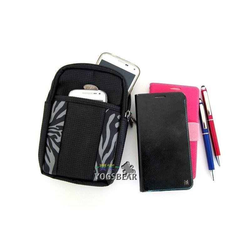 悠格~YOGSBEAR ~直立式6 吋手機包手機袋斜背包側背包 相機包護照包工具包腰包掛包