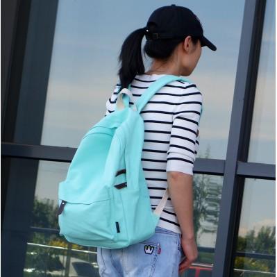 ~酷衣購~ 外單水洗輕便帆布包包雙肩包小清新少女旅行後背包精致