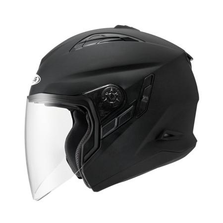 ZEUS ZS 613B 消光黑~ 內藏式遮陽鏡片機構,操作方便、可保持良好視線~