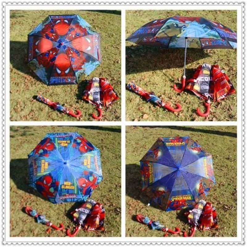 ~雙畇媽咪~~賣場滿599 元享7 11 超取~ 蜘蛛款兒童折疊雨傘