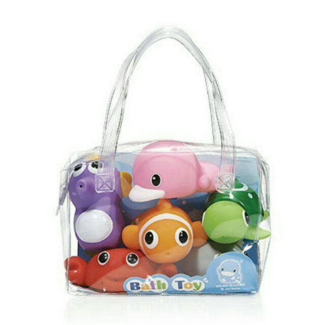 酷咕鴨水中玩具海洋動物組