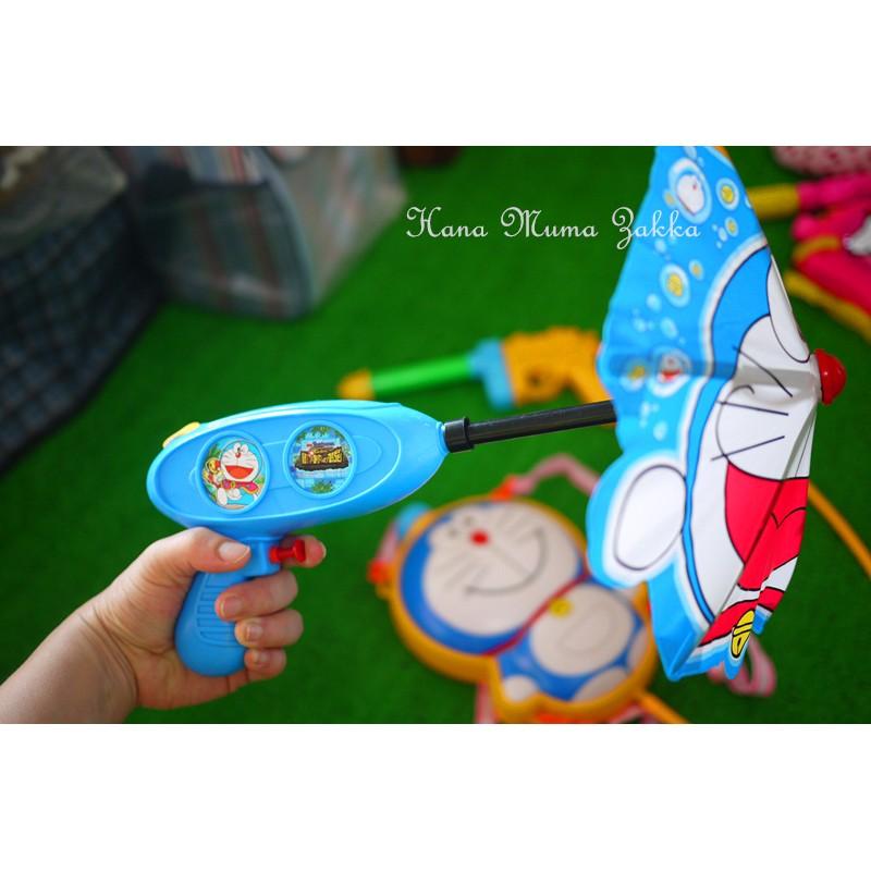 水槍玩具傘雨傘防備夏日夏天玩水對戰打水仗露營野餐兒童玩具卡通 花木馬 雜貨