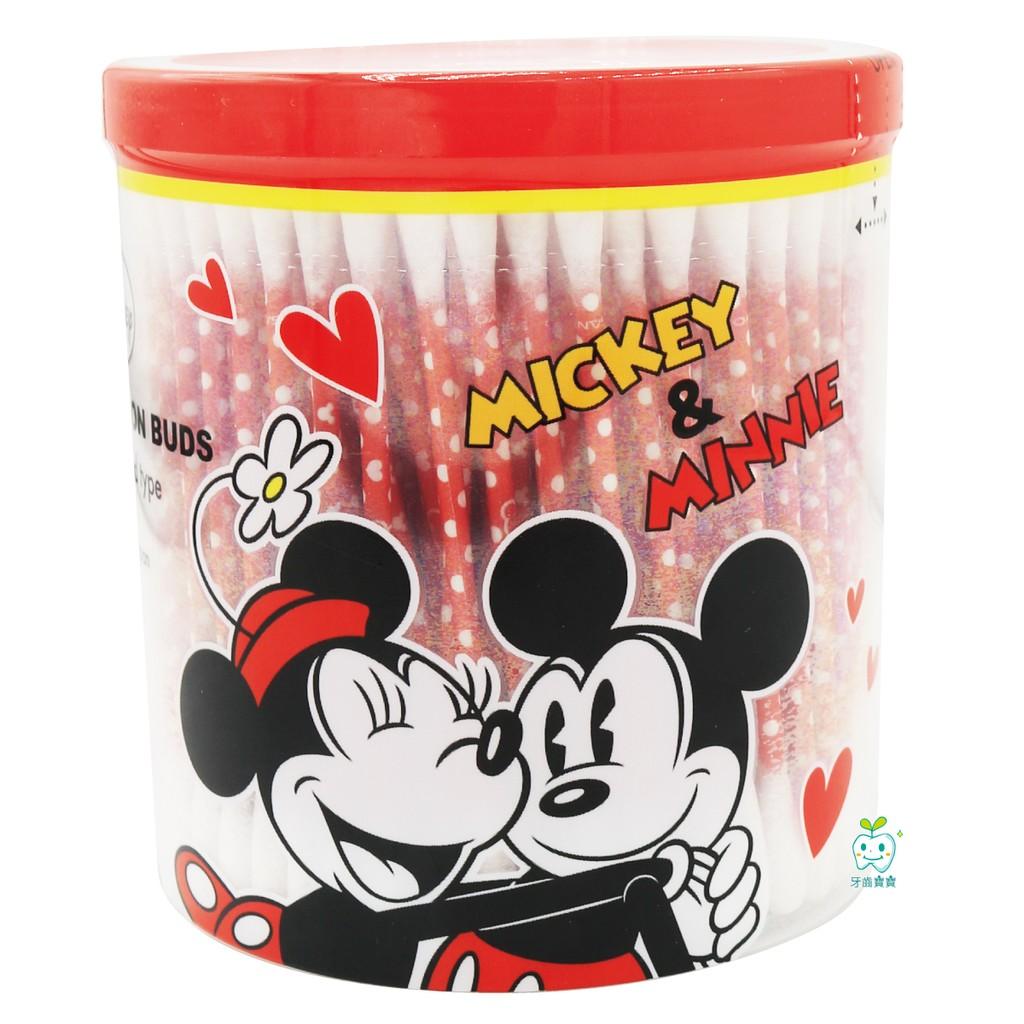 製Disney Mickey Minnie 迪士尼米奇米妮棉花棒200 支