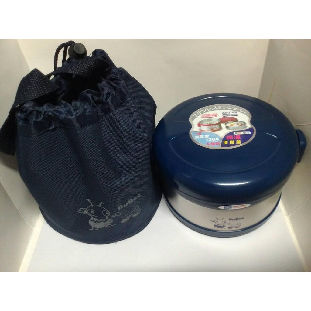 三光牌佳用保溫便當盒J 950EB 便當飯盒0 95L 附提袋有紅藍兩色真空餐盒950ml