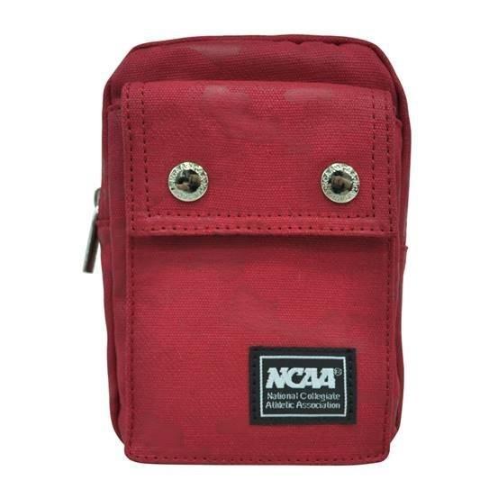 ~波士頓倉庫~北卡大學NCAA 休閒旅遊外出防潑水隨身小物手機腰包掛包側背包紅色迷彩 58