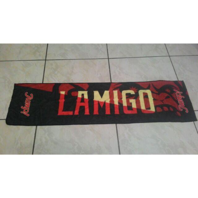 Lamigo 應援毛巾長100cm ,寬26cm