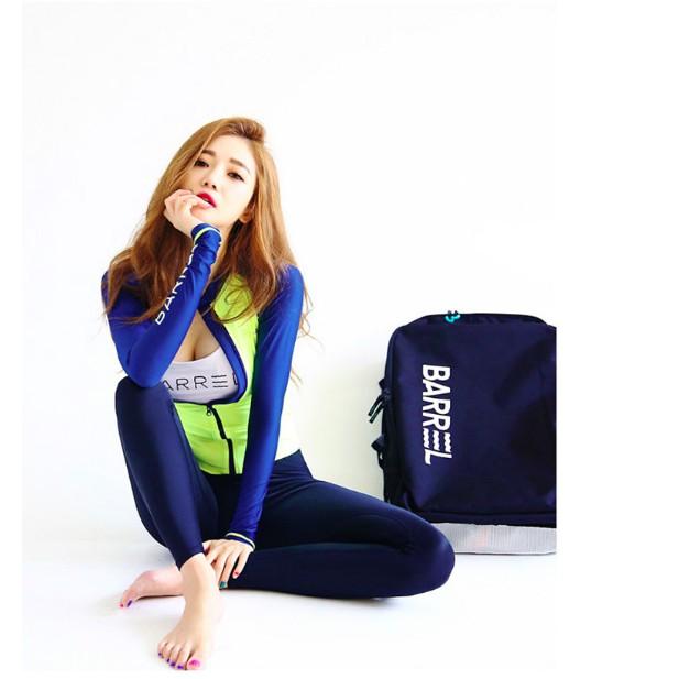 韓國四件組長袖防曬長褲泳裝淺水衝浪可單買l 顯瘦bikini 泳衣溫泉voda