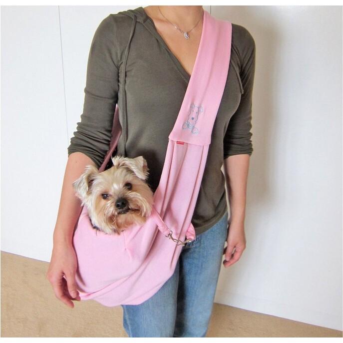 PETSTYLE 狗狗貓咪兔子倉鼠包兩面背包包 單肩輕便寵物包寵物揹包外出 透氣摺疊寵物袋
