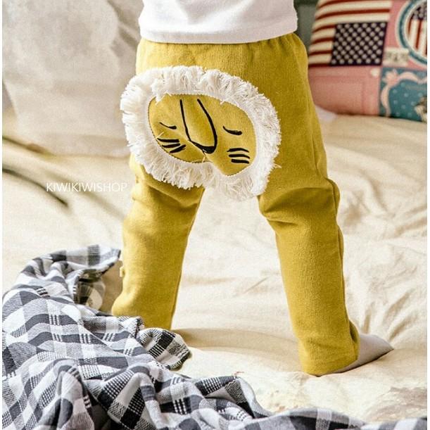 ~KiwiKiwi Shop ~韓❤可愛獅子頭棉褲2 色XS XL ~A8110 ~