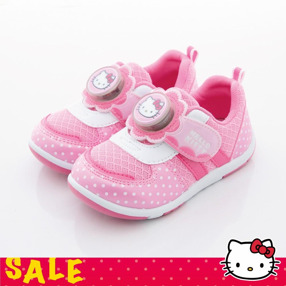SALE Hello Kitty 凱蒂貓中小童立體電燈 鞋點點學步休閒鞋KT714830P