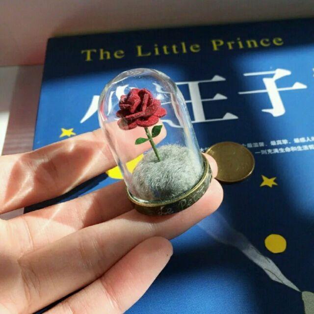 小王子的玫瑰花成品~母親節男生男朋友女朋友女生生日 父親節結婚白色七夕情人節 畢業 化 求