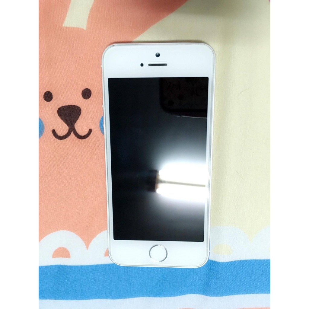 iPhone 5s 16G 銀色95 新無盒