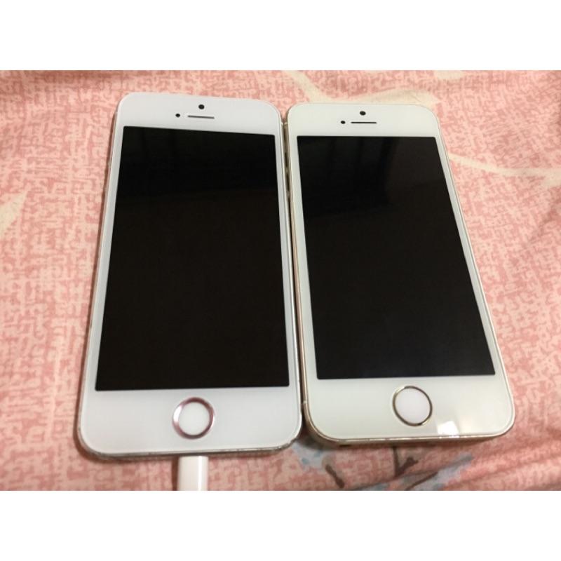 Iphone5s 銀金16G