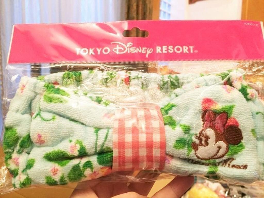 ~FollowV ~ Disney 迪士尼樂園~ ~米老鼠米妮法式鄉村風春天草莓花園純棉洗