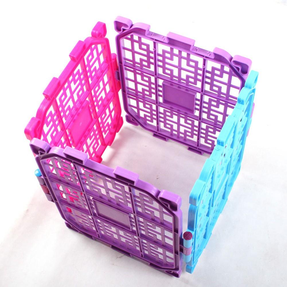 超 送插銷!!!寵物塑膠圍欄狗狗圍欄柵欄狗籠子貓圍欄寵物屏風DIY 組裝單片
