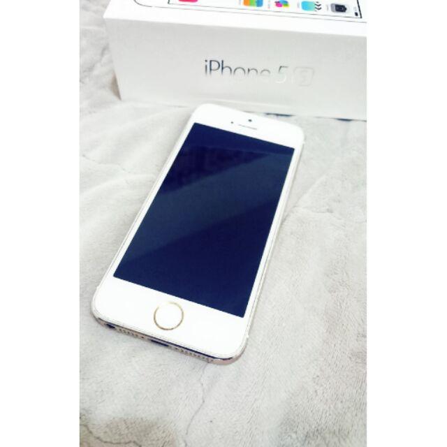 ✨❌ 正常 Iphone5s 32G 女用機白金✨